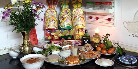 Hướng dẫn các bước chuẩn bị và nghi thức lễ cúng ông Táo ngày 23 tháng Chạp đầy đủ và đúng nhất